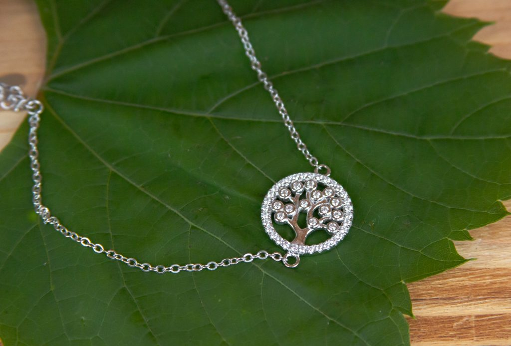 Diamond Tree Necklace