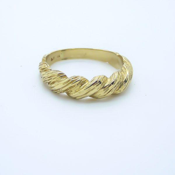 14k Yellow Gold Ring/ Band