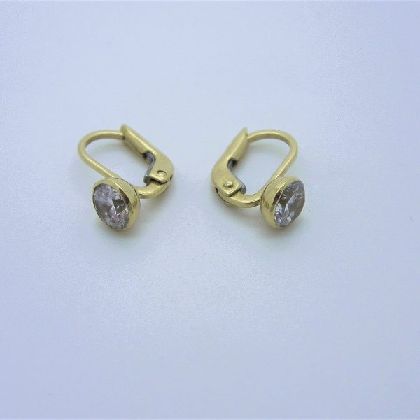 10k yellow gold earrings