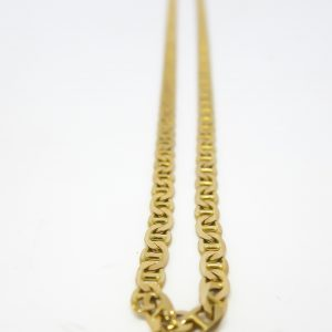 14k Yellow Gold Anchor Link Chain