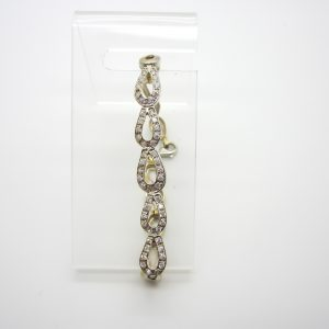 Ladies 18k White Gold Bracelet