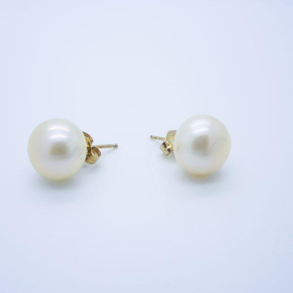8688997689877 Large Pearl Stud Earrings - Stud Earrings References