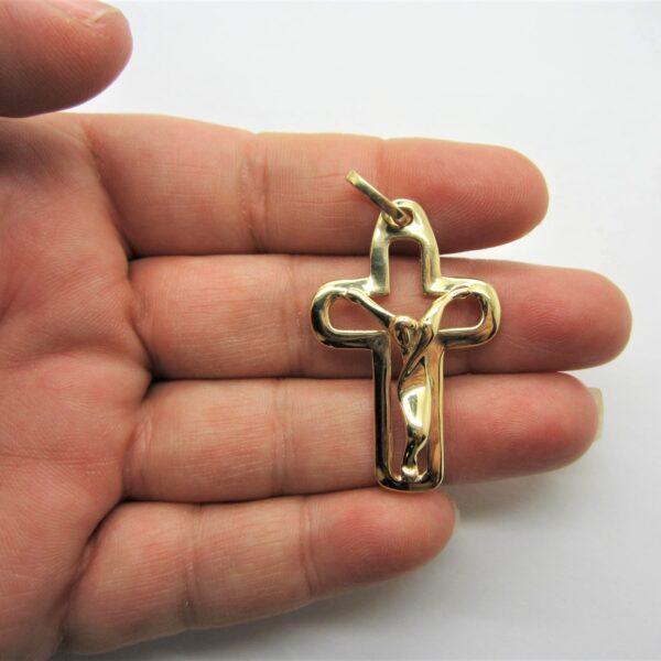 10K Yellow Gold Cross
